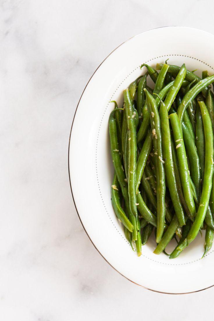 Garlicky Green Beans Recipe — Dishmaps