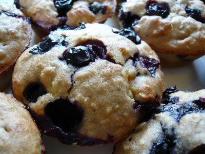 blueberry cornmeal muffins | fav recipes | Pinterest