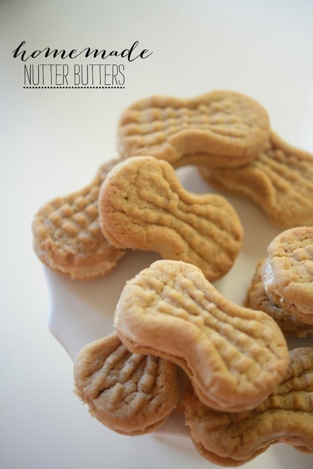 Homemade nutter butters. | Baby Mine | Pinterest