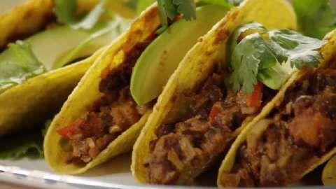 Vegan Bean Taco Filling Allrecipes.com {this was a good filling but I ...
