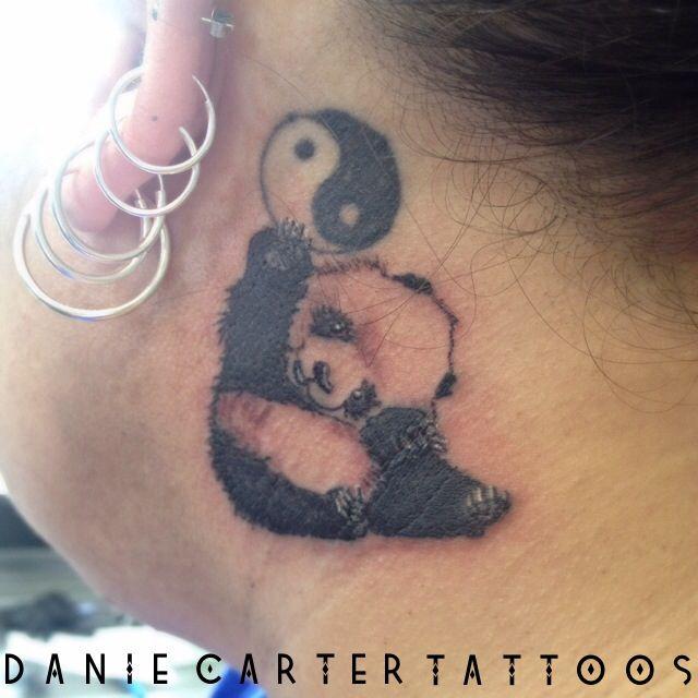 Baby panda small tattoo danie carter tattoos pinterest for Baby panda tattoo