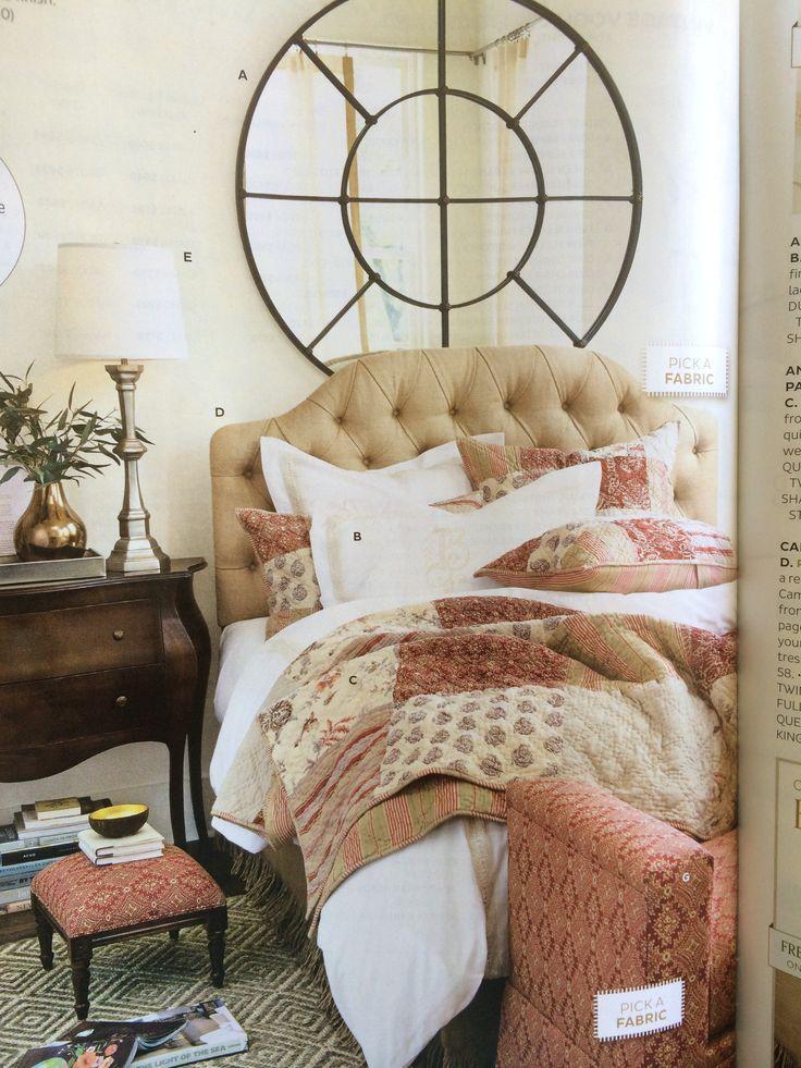 Annabel heirloom patchwork quilt ballard designs
