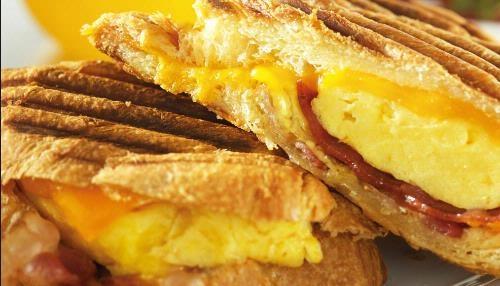 Breakfast Panini | Recipes | Pinterest