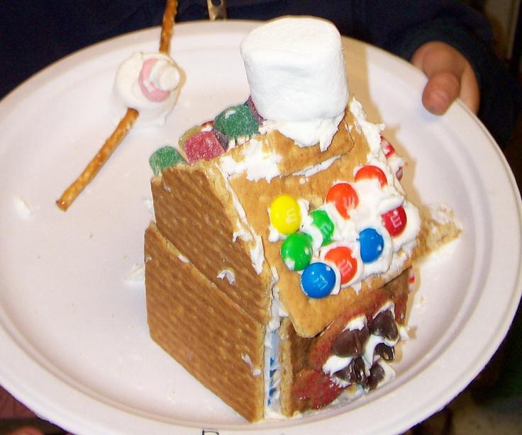 Gingerbread house | Teaching Ideas | Pinterest