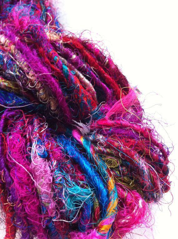 Silk Knitting Yarn : ... sari silk yarn. Art Yarn. Knitting yarn. Fresh Berry. Unique yarn