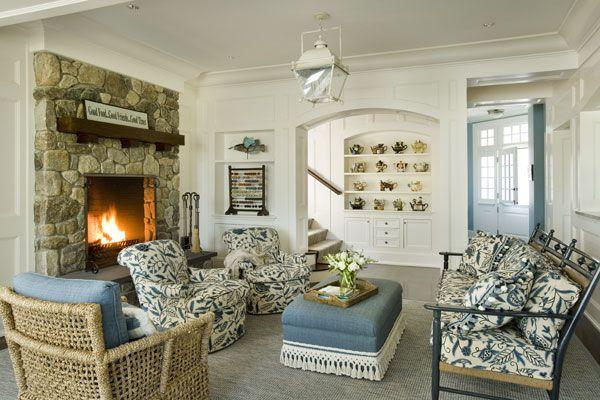 Stone Fireplace Built Ins Dream Home Pinterest