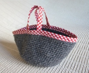 Crochet Work Bags : Crochet Work Bag Knitting and Crochet Bags Pinterest