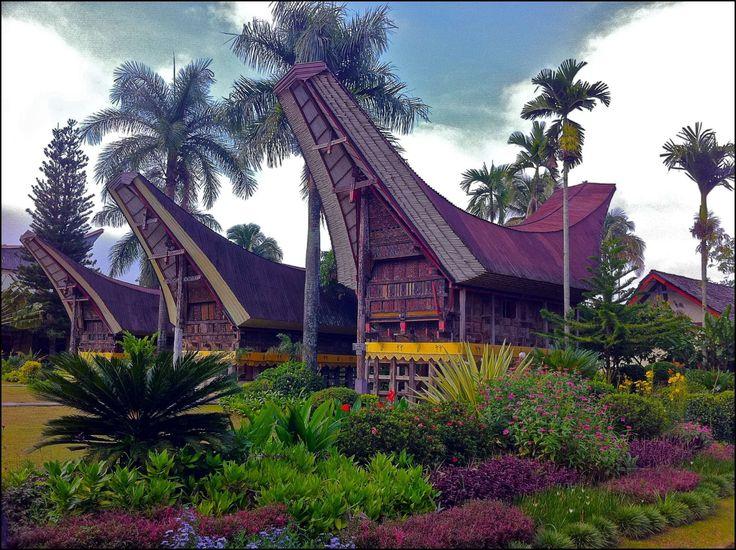 Tongkonan: Rumah adat Sulawesi Selatan. | Rumah Adat | Pinterest