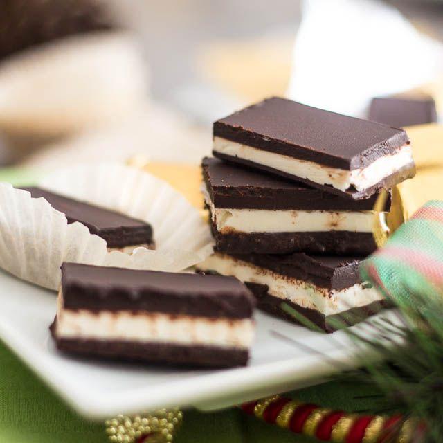 Paleo Dark Chocolate Mint Thins   Recipe