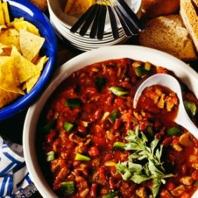 Sirloin Steak and Ground Beef Chili #healthytimes http ...