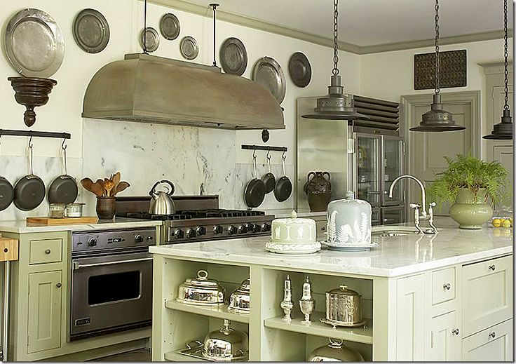 Love the marble, pewter and silver  Kitchen Ideas  Pinterest
