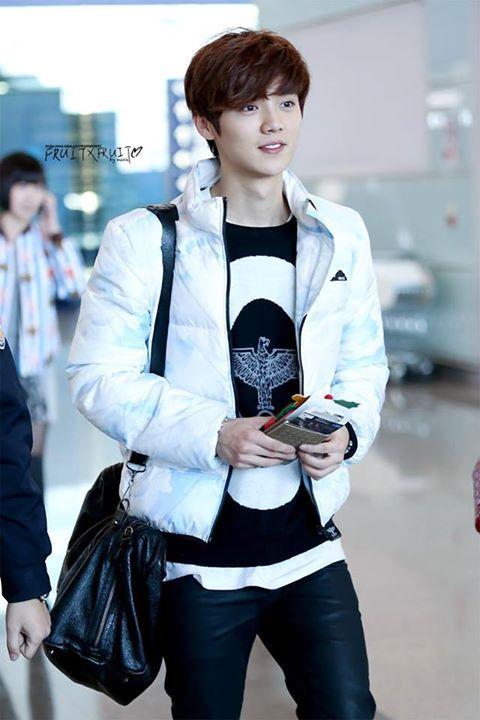 140203 Luhan @ Incheon/Beijing Airport | Luhan