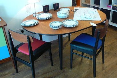 1960s G Plan Style Table And Chairs Mid Century Modern Art Deco