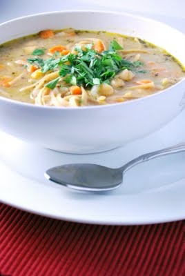 chickpea noodle soup | Hearty Soups, Stews, Chili and Beans | Pintere ...