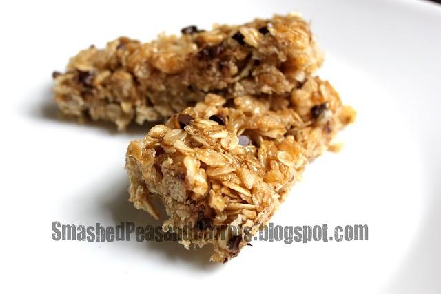 Gluten-Free Granola Bars | Ca C'est Bon: Snacks | Pinterest