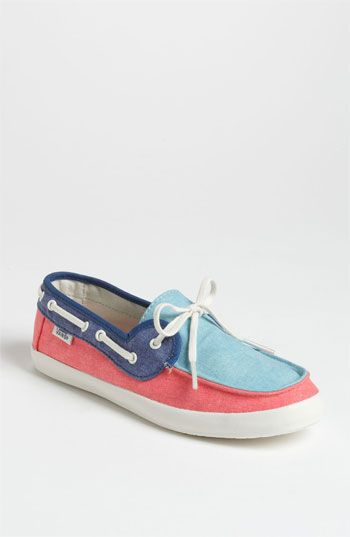 Vans 'Chauffette' Boat Shoe (Women) available at #Nordstrom