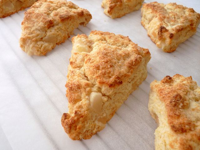 Pear & Ginger Scones | Recipes to Try (breads) | Pinterest