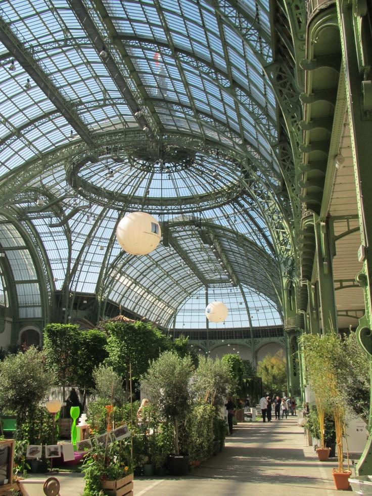 Verri re serre du grand palais l 39 art du jardin au for Au jardin du port le palais