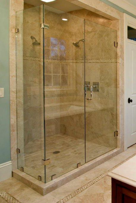 Glass Shower Enclosure For The Home Pinterest