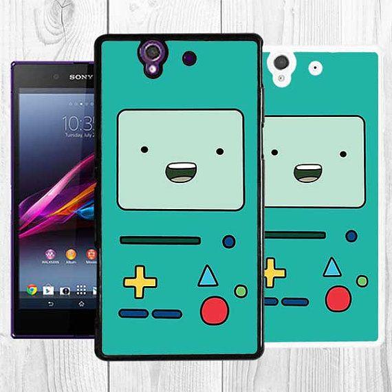 Beemo Xperia Z1 Case Adventure Time BMO Sony Xperia Z Case Note 3 Bla ...