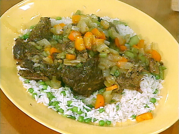 Garlic Lovers' Pot Roast and Real-Deal Rice Pilaf | Recipe