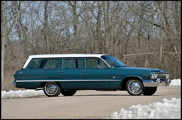 1963 chevrolet station wagon