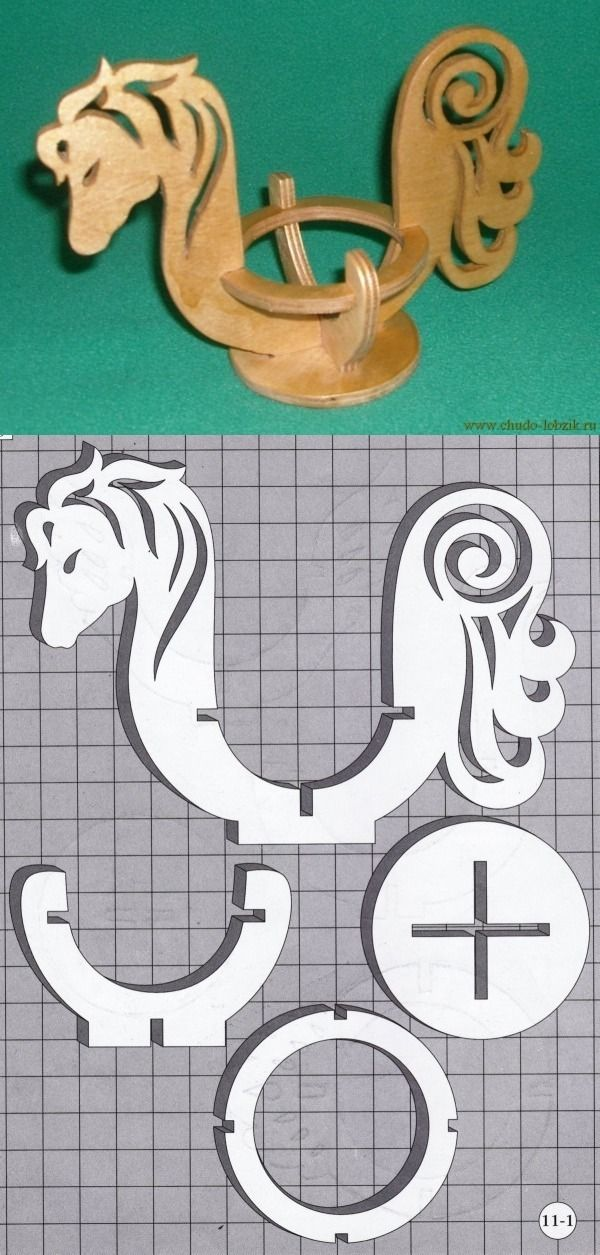 Игрушки из фанеры лобзиком