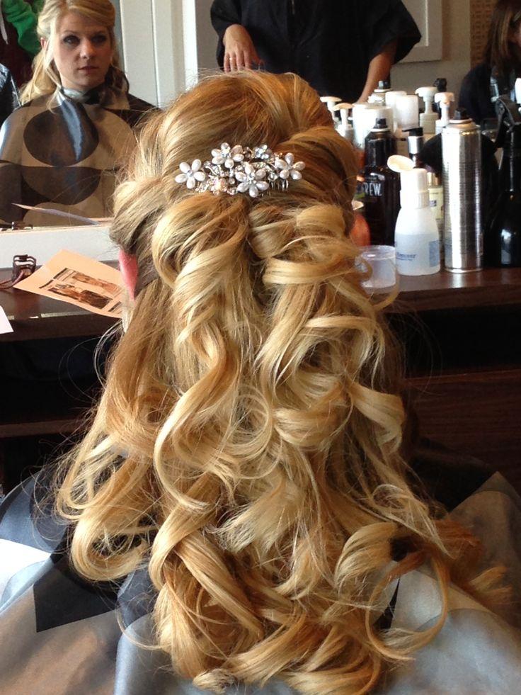 My wedding hair trial Love it! | Mr & Mrs | Pinterest
