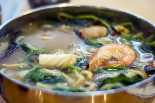 Yachae Kalguksu (Korean Knife Noodles With Vegetables) Recipe ...