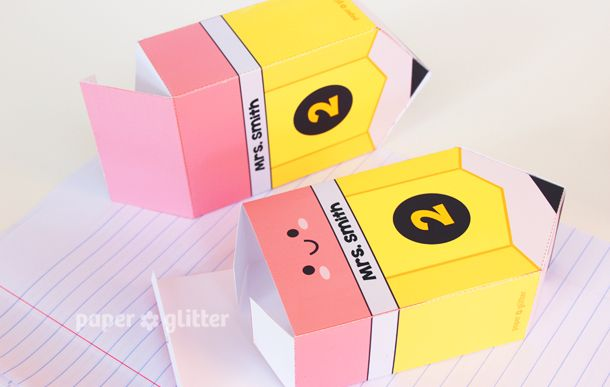 Pin by hsikting chia on packaging i likes pinterest for Cute papercraft templates