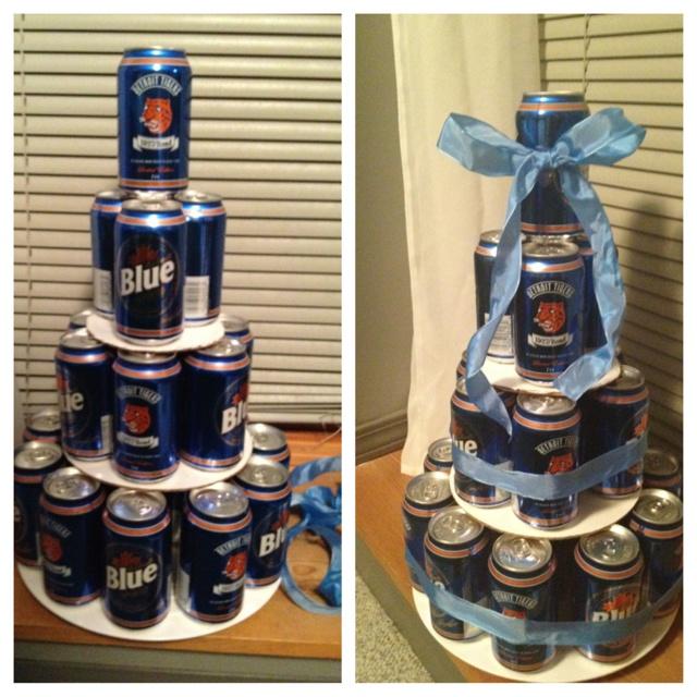 Boyfriend Cake Ideas Beer Cake For my Boyfriends