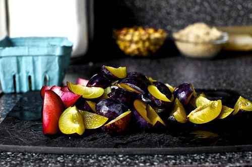 hazelnut plum crumb tart | smitten kitchen