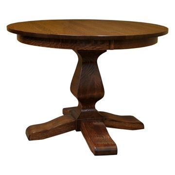Ashley 42 Inch Round Dining Table With Leaf