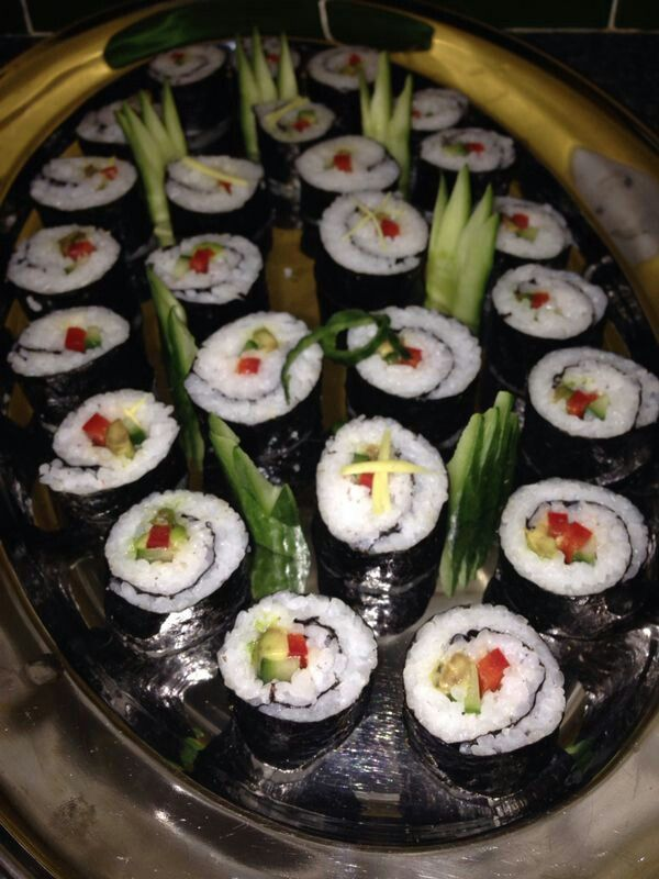 Vegetable sushi | Chinese/Asian Food (my weakness) | Pinterest