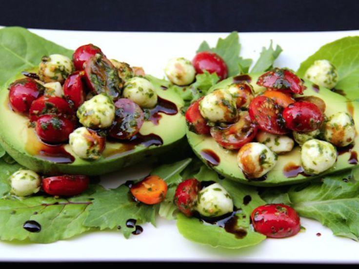 ... avocado! Chickpea salad, caprese, tuna, quinoa...is it lunchtime yet