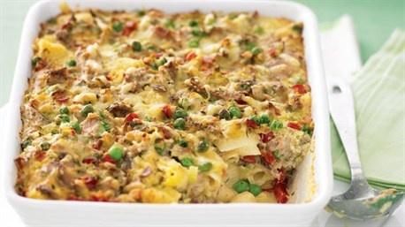 Tuna pasta bake | Recipe