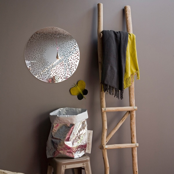 Serendipity chelle bois brut decorating ideas and home - Echelle bois deco ...
