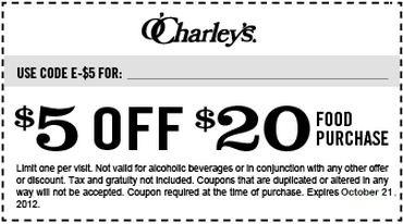 O'charley's printable coupons december 2018