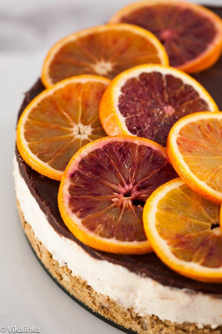 Blood Orange Cheesecake (No bake) | Recipe