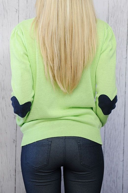 Sweater with Heart Elbow Patches   Clothing and such   Pinterest