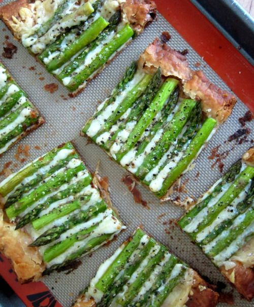 Asparagus and Gruyere Tart | Recipes | Pinterest