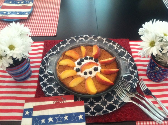 Fourth of July Buttermilk and Peach Pie from Pie It Forward: Pies ...