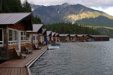 ross lake floating cabins for rent family fun