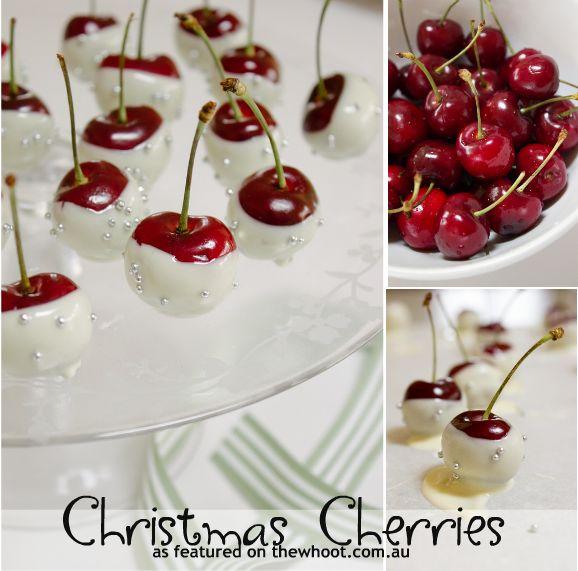 christmas cherries | Christmas Time | Pinterest