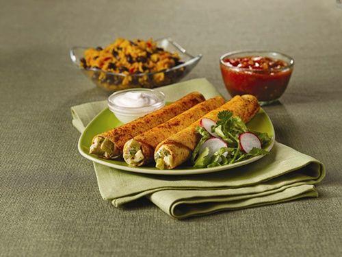 Baked chicken flautas | It's What's for Dinner... | Pinterest