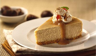 Chestnut Cheesecake Recipe | cheesecakes & Tarts | Pinterest