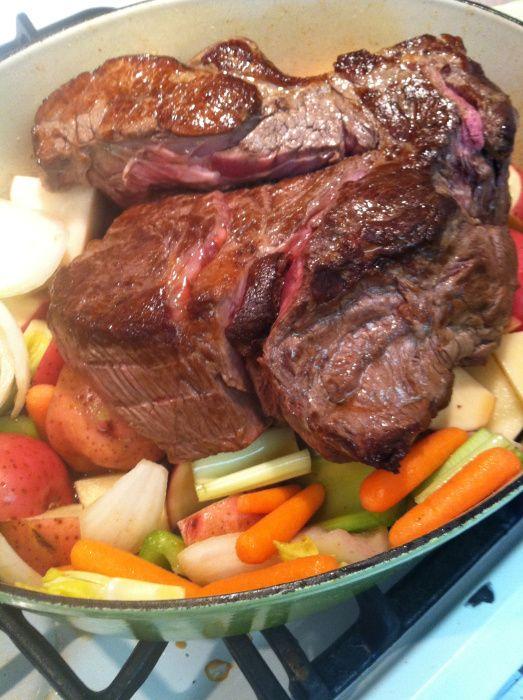 Easy Beef Pot Roast funfoodiefamily.com | Beef | Pinterest