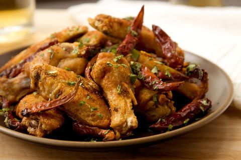 Chicken Wings with Explosive Chile | Appetizers | Pinterest