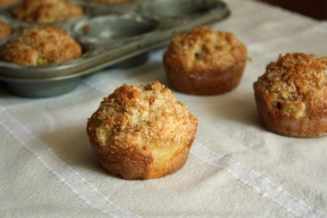 Pineapple Coconut Muffins... Don't do like I did and fill the muffin ...