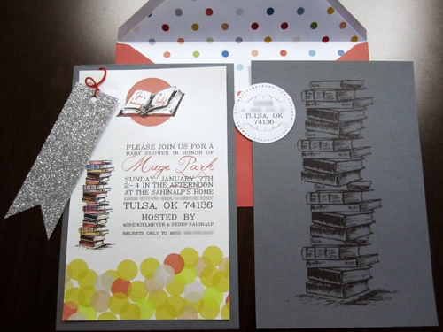 book themed baby shower invitations party ideas pinterest